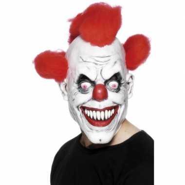 Horror clownsmasker volwassenen carnavalskleding valkenswaard
