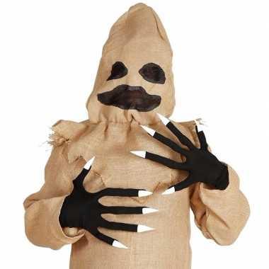 Horror handschoenen lange vingers carnavalskleding valkenswaard