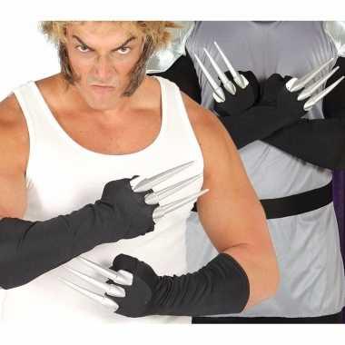 Horror klauwen handschoenen carnavalskleding valkenswaard