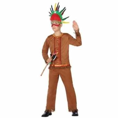 Indiaan/indianen carnavalskleding/verkleed carnavalskleding jongens v
