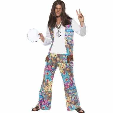 Jaren hippie carnavalskleding groovy heren valkenswaard