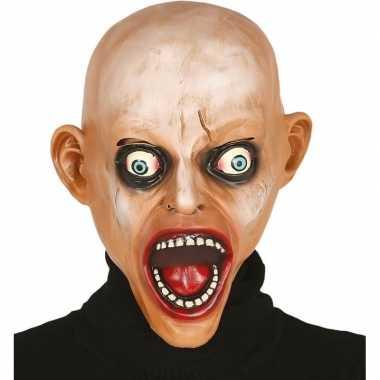 Kale zombie horror masker latex carnavalskleding valkenswaard