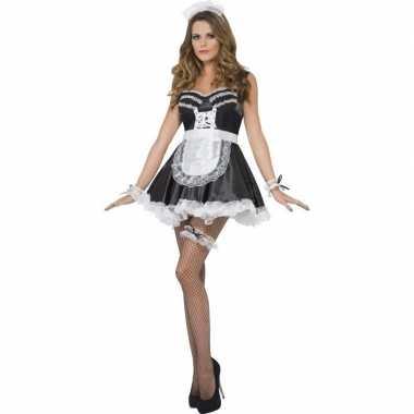 Kamermeisje accessoires set dames carnavalskleding valkenswaard