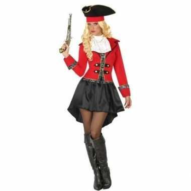 Kapitein piraat grace verkleed carnavalskleding/carnavalskleding dame