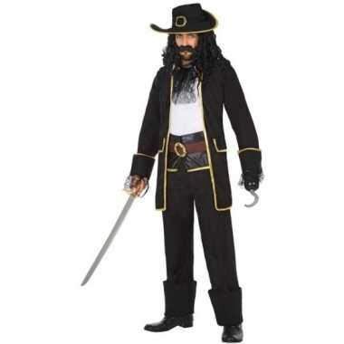 Kapitein piraat thomas verkleed carnavalskleding/carnavalskleding her