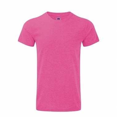 Katoennen t shirt roze heren carnavalskleding valkenswaard