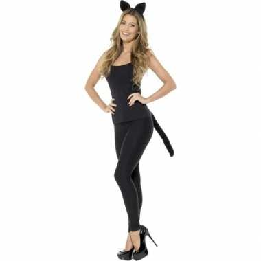 Katten/poezen verkleedset dames carnavalskleding valkenswaard