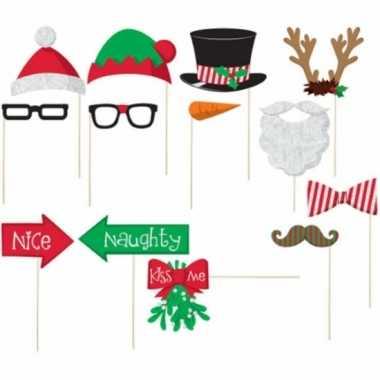Kerst accessoires stokje stuks carnavalskleding valkenswaard
