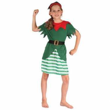 Kerst elf carnavalskleding meisjes valkenswaard