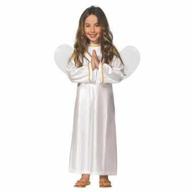 Kerst engel ariel verkleed carnavalskleding/jurk meisjes valkenswaard
