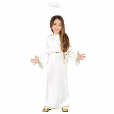 Kerst engel sariel verkleed carnavalskleding/jurk meisjes valkenswaar