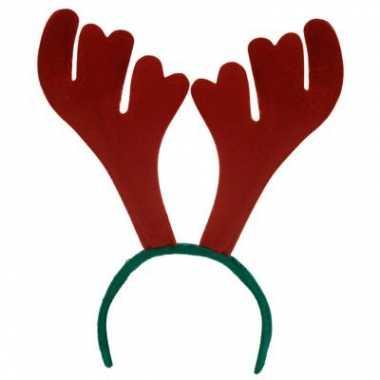 Kerst haarband rendier carnavalskleding valkenswaard