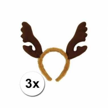 Kerst haarbanden rendier gewei x carnavalskleding valkenswaard