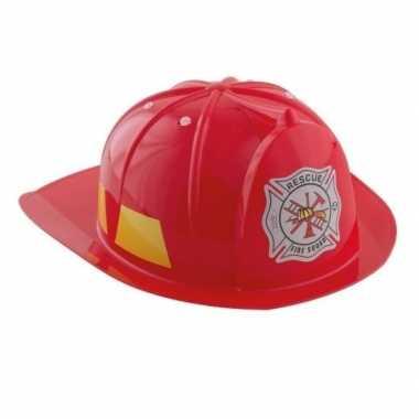 Kinder brandweerhelm carnavalskleding valkenswaard