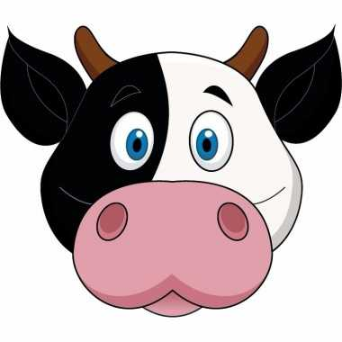 Koeien maskertjes kinderen carnavalskleding valkenswaard