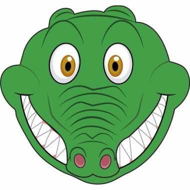 Krokodil maskertjes kinderen carnavalskleding valkenswaard