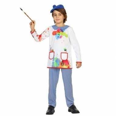 Kunstschilder verkleed carnavalskleding picassio kinderen valkenswaar