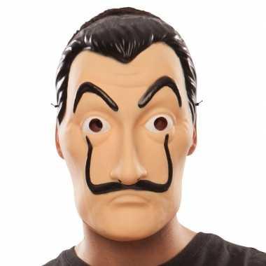 La casa papel overvaller masker salvador dali carnavalskleding valken