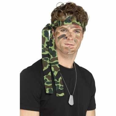 Leger accessoires verkleedset ketting hoofdband carnavalskleding valk
