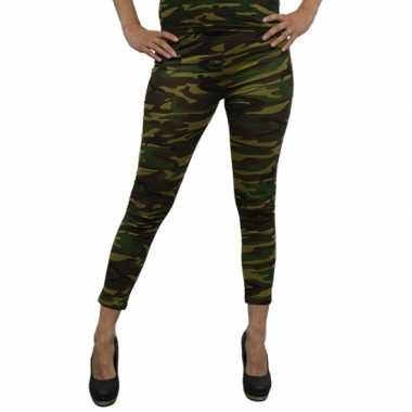 Leger legging dames