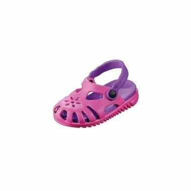 Lichtgewicht kinder camping schoentjes roze paars carnavalskleding Va