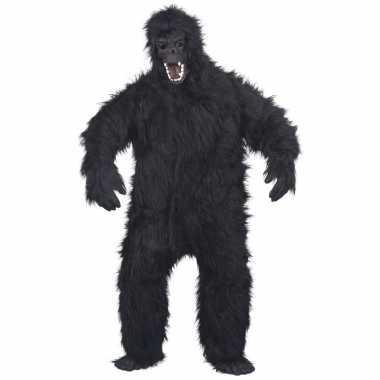 Luxe gorilla carnavalskleding/carnavalskleding volwassenen valkenswaa