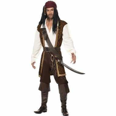 Luxe piraten carnavalskleding heren valkenswaard