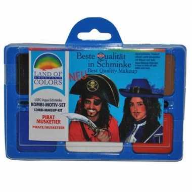 Make up set piraat carnavalskleding valkenswaard