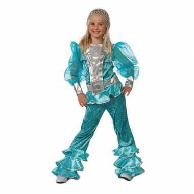 Mamma Mia carnavalskleding blauw Valkenswaard
