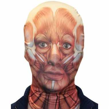 Masker opengelegde spieren