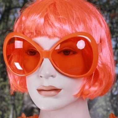 Mega feestbril oranje 10014990
