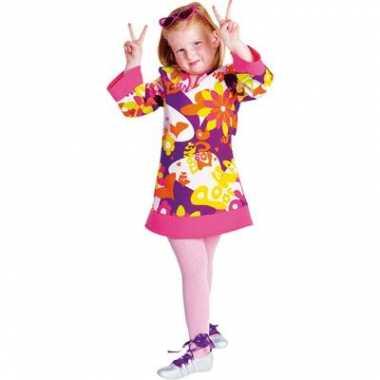 Meisjes hippie jurk carnavalskleding valkenswaard