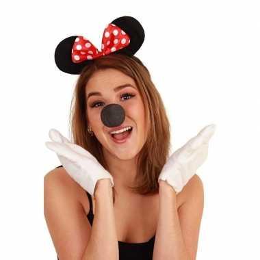 Mini muis verkleedset dames carnavalskleding valkenswaard