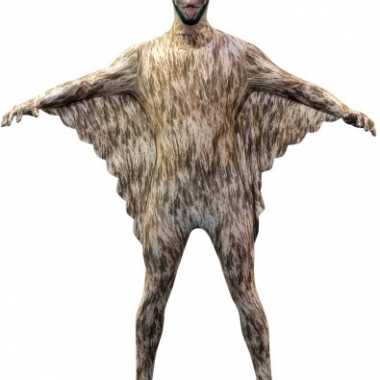Morphsuit vleermuis opdruk carnavalskleding valkenswaard