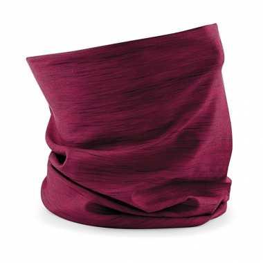 Multifunctionele morf sjaal roze strepen print volwassen carnavalskleding valkenswaard