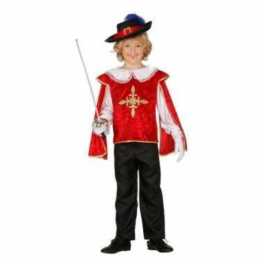 Musketiers carnavalskledings jongens valkenswaard