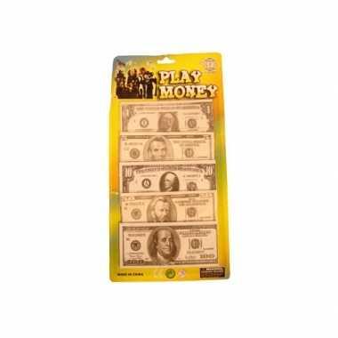 Nep briefgeld dollars stuks carnavalskleding valkenswaard