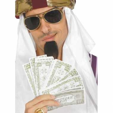Nep geld verkleedaccessoires dollar carnavalskleding valkenswaard
