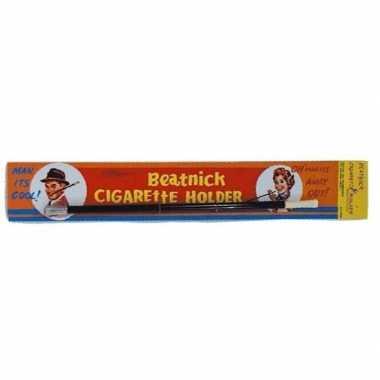 Nep sigaretten houder zwart carnavalskleding valkenswaard