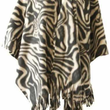 Omslagdoek zebra print