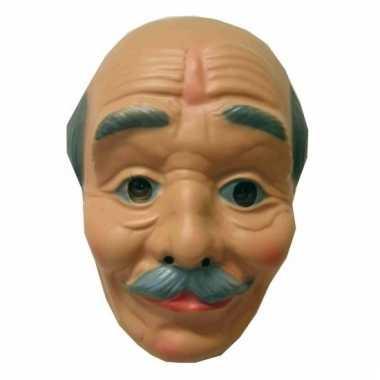 Opa masker kaal snor