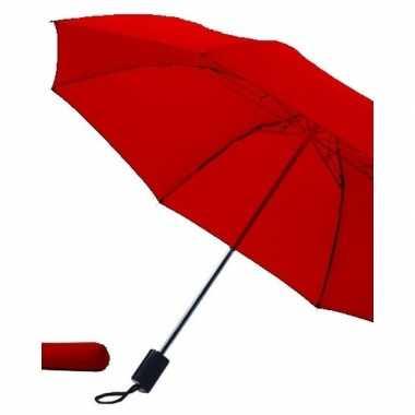 Opvouwbare paraplu rood carnavalskleding valkenswaard