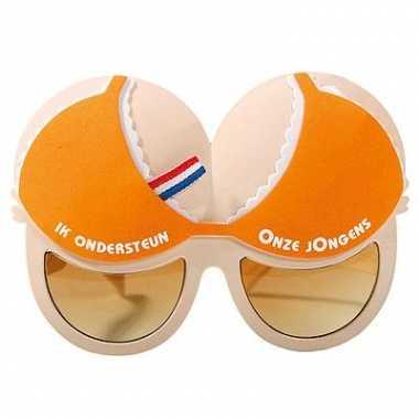 Oranje fun bril onze jongens carnavalskleding Valkenswaard