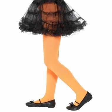 Oranje legging kinderen jaar carnavalskleding valkenswaard