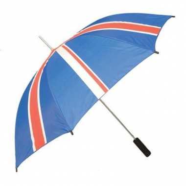 Paraplu Engeland vlag carnavalskleding Valkenswaard