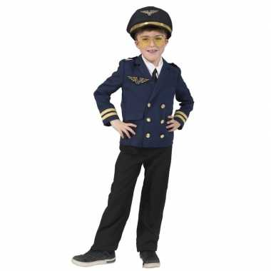Piloten verkleed jasje kinderen carnavalskleding valkenswaard