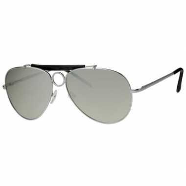 Pilotenbril spiegelglas carnavalskleding Valkenswaard