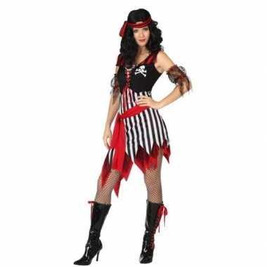 Piraat bonny verkleed carnavalskleding/carnavalskleding dames valkens
