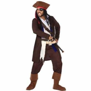 Piraat christopher verkleed carnavalskleding/carnavalskleding heren v
