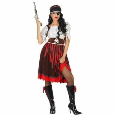 Piraat rachel verkleed carnavalskleding/carnavalskleding dames valken